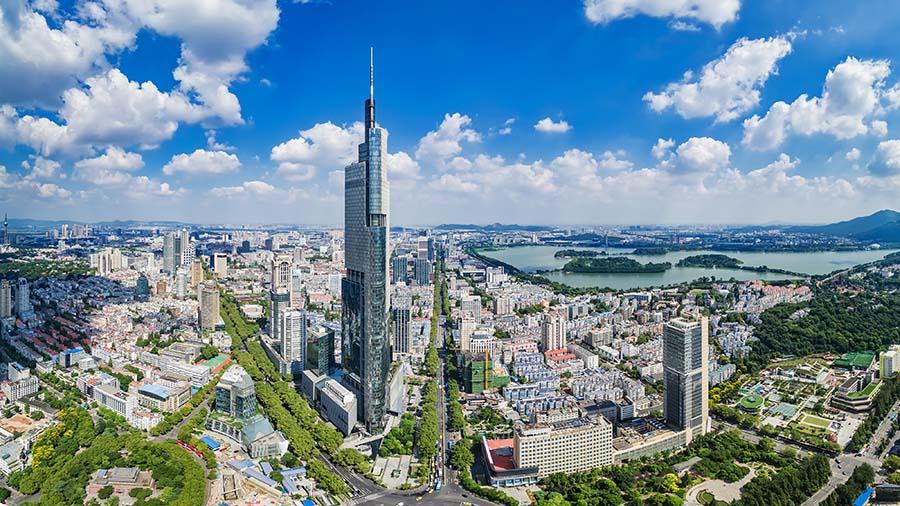 南京紫峰大厦——江苏第一、世界第七高楼