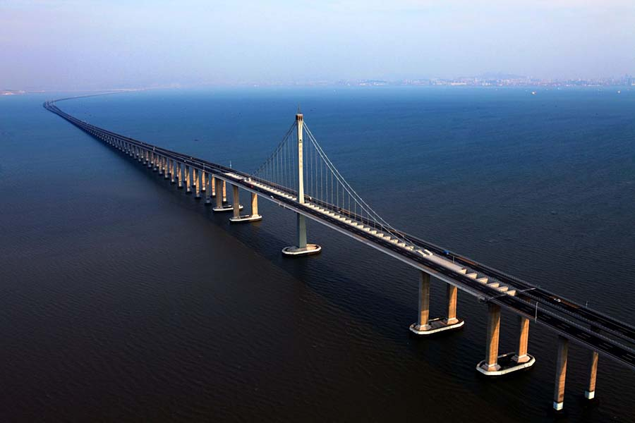 青岛海湾大桥——我国北方海域特大型桥梁集群工程