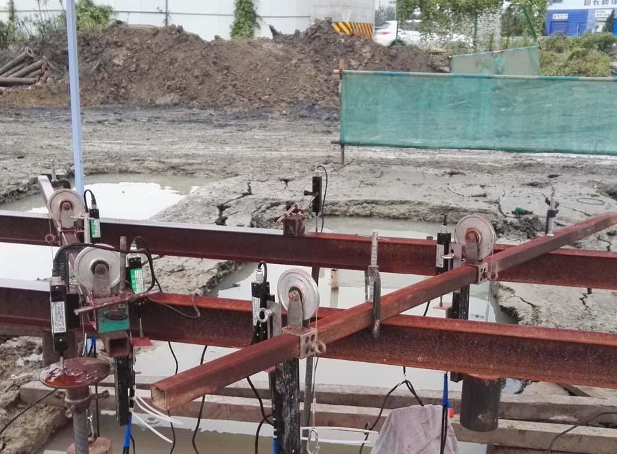 苏州市东环快速路南延二期(吴中区段)1标基桩工程完成3根试桩自平衡测试