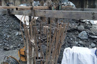 宁波市轨道交通3号线一期工程TJ3109标鄞州区政府站(试桩)