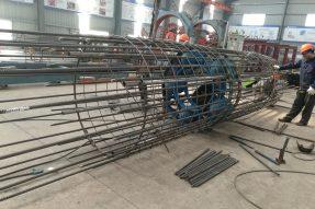 崇贤至东湖路连接线一期工程第一合同段工程完成3根试桩下钢筋笼/自平衡测试