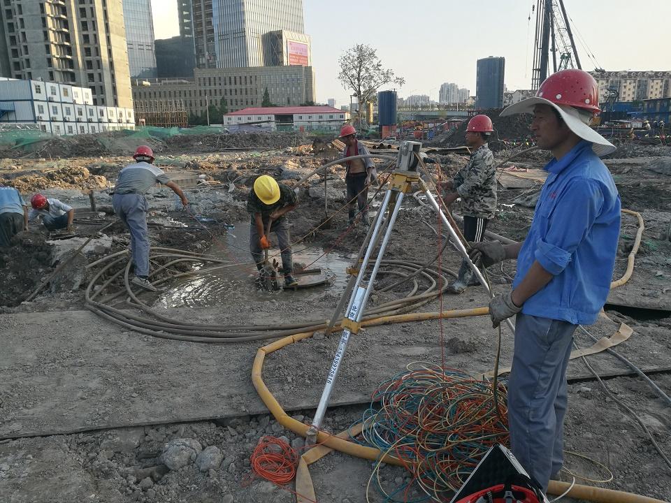 南京世茂NO.2016G11项目酒店式公寓工程完成10根试桩下钢筋笼/自平衡测试,74根超声波检测,199根成孔检测