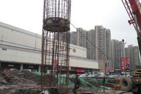 龙江新城市广场二期试桩工程