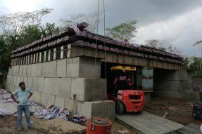 援孟加拉国孟中友谊八桥项目工程完成2根试桩测试