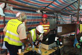 莫桑比克马普托大桥及连接线工程完成3根试桩测试